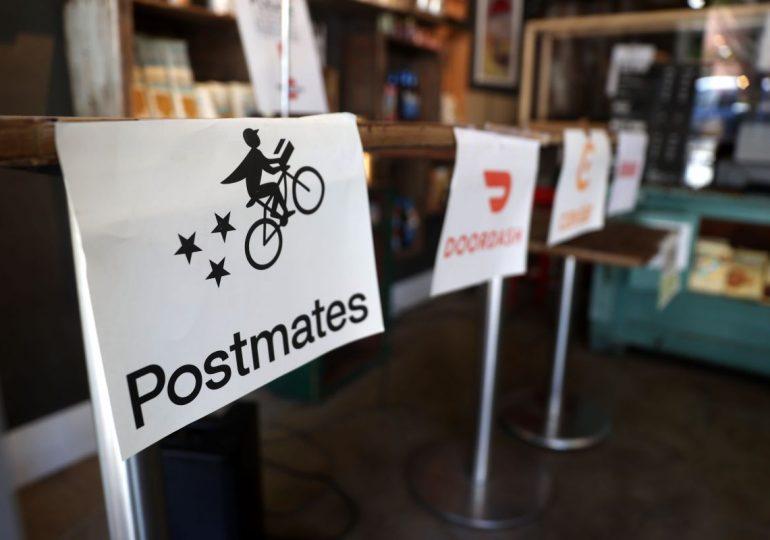 Компания Uber планирует поглотить сервис Postmates